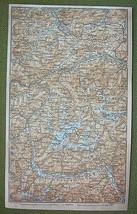 AUSTRIA Otztal Alps Italy Glurns & Merano Envir... - $13.86