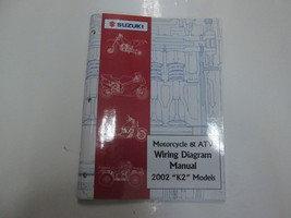 2002 Suzuki Motorcycle & ATV Wiring Diagram Manual Models K2 FACTORY OEM BOOK 01 - $15.83