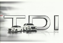 2009/2010 Audi TDI sales brochure catalog A3 Q7 10 US - $10.00