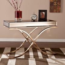 Mirrored Console Desk Contemporary Mirror Vanity Table Bed Room Hall Way... - €481,30 EUR