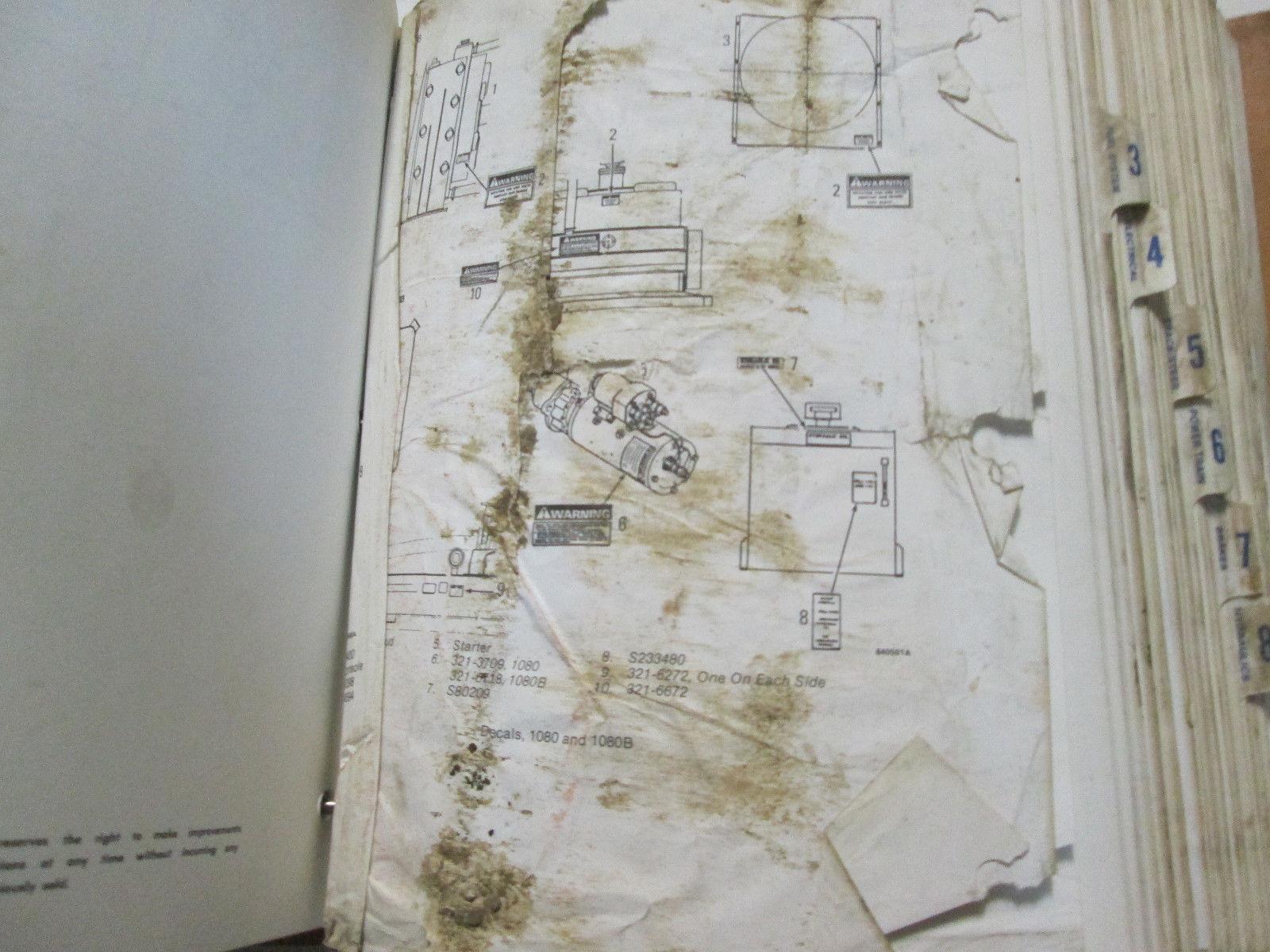 Case 1080 1080B Inline 71 Service Repair Shop Manual Factory OEM Book Used