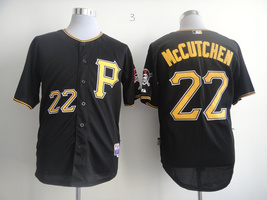 #22 Black Andrew McCutchen Majestic Pittsburgh Pirates MLB Jersey - $37.99