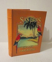 San Blas, Island Paradise, Parrots, Sailboat Journal New Golden Brown Book - $13.99