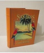 San Blas, Island Paradise, Parrots, Sailboat Journal New Golden Brown Book - $13.99