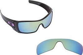 New Seek Optics Replacement Lenses Oakley Batwolf   Polarized Green Mirror - $19.78