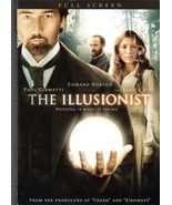 The Illusionist (DVD, 2007, Pan & Scan)  free shipping - $5.87