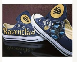 harry Potter inspired ravenclaw handpainted shoes  - $110.00