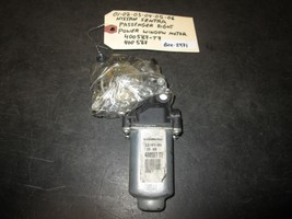 01 02 03 04 05 06 Nissan Sentra Passenger Right Power Window Motor #400587 T7 - $21.03
