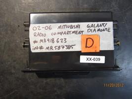 02 03 04 05 06 Mitsubishi Galant/Radio Compartment Diamonte #Mb198623/Mr587385 - $24.75
