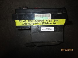 02 03 04 05 06 MINI COOPER FUSE BOX #6906648-02/142664-10 *See item description* - $47.52