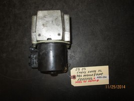 02 03 Chevy Envoy Xl Abs Module Pump #13354735 Abs 254 *See Item* - $67.31