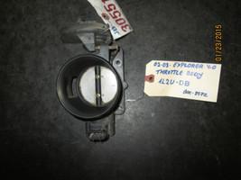 02 03 EXPLORER 4.0 THROTTLE BODY #1L2U-DB BOX-8572 *See item description* - $39.59