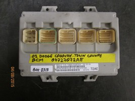 02 DODGE CARAVAN TOWN COUNTRY BCM #04727072AE BOX-8313 *See item descrip... - $89.10