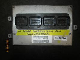 02 DODGE DURANGO 4.7L ECM #56040617AG *See item description* - $117.81