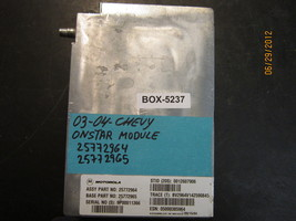 03 04 CHEVY ONSTAR MODULE #25772964/25772965  *see description* - $46.27