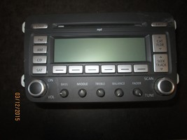05 06 07 08 09 10 Vw Jetta,Passat Radio Cd Player #1 K0035180 G Xx 933 *See Item* - $94.05