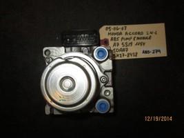 05 06 07 HONDA ACCORD 2.4L ABS PUMP& MODULE A7 5S19 1154/SDAA7/5K27-8438... - $67.31