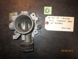 05 06 PT CRUISER 2.4L THROTTLE BODY NO SENSORS *See item description* - $15.15
