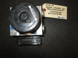 11 12 13 Dodge Chrysler 200 Abs Pump & Module #4779736 Ad/04779736 Ad *See Item* - $50.49