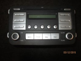 06 07 08 09 10 Vw Rabbit Jetta Radio Cd Player #1 K0035161 D Xx 938 *See Item* - $59.35