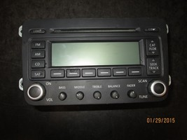 06 07 08 09 VW JETTA RADIO CD #1K0035180 XX-112 *See item description* - $34.65