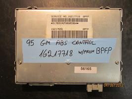 1995 Gm Abs Control Module #16217718 Bpfp *See Item Description* - $24.74
