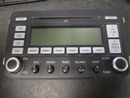06 07 Vw Jetta Radio Cd Player #28119146 *See Item Description* - $98.99