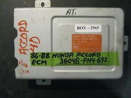 86 87 88 Honda Accord Ecm #36048 Ph4 692 - $44.55