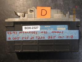 92 93 MERCEDES ABS MODULE #005 545 21 32/0 265 101 018 *See item description* - $12.61