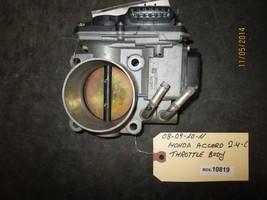 08 09 10 11 Honda Accord 2.4 L Throttle Body Box 10819 *See Item Description* - $59.40