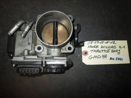 08 12 Honda Accord 2.4 Throttle Body #Gmd7 A *See Item Description* - $39.60