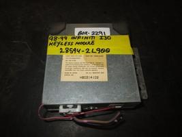 98 99 Infiniti I30 Keyless Module #28594 2 L900 *See Item* - $29.44