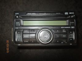 09 Nissan Versa Radio 6 Disc Cd Player #28185 Em33 A Xx 326 *See Item* - $108.90