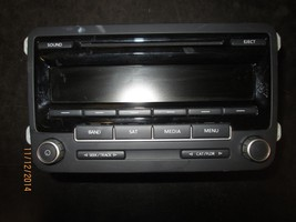 11 12 VW JETTA RADIO CD #1K0035164C/28305130 XX-454 *See item description* - $79.19