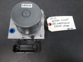 12 13 Hyundai Accent Abs Pump & Module #58920 1 R400 *See Item Description* - $84.15
