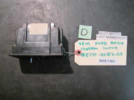 Oem Ford Radio Control Switch #E59 F 18 K817 Aa *See Item Description* - $16.83