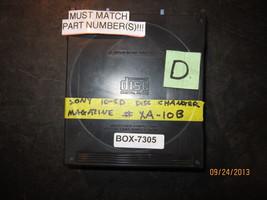 SONY 10-CD DISC CHANGER MAGAZINE #XA-10B *See item description* - $10.10