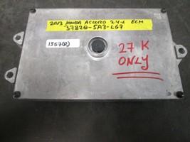 13 HONDA ACCORD 2.4L ECM #37820-5A3-L67 *See item description* - $185.12