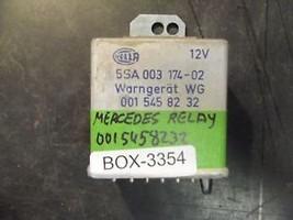 77 78 79 80 81 82 83 Mercedes Relay Module #0015458232 / Box 3354 - $25.25