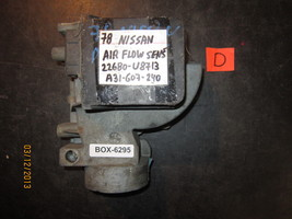 78 NISSAN AIR FLOW SENSOR #22680U8713/A31607240 *see item description* - $33.65