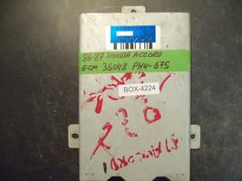 86 87 HONDA ACCORD ECU/ECM #36048-PH4-675 *see item description* - $49.49