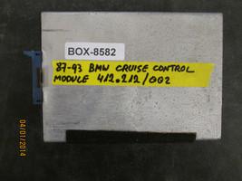 87 88 89 90 91 92 93 Bmw Cruise Control Module #412.212/002 *See Item* - $21.03