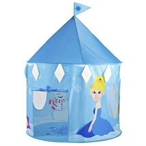 Princess Neve's Ice Castle Nylon Pop Up Play Tent with Storage Bag Age 3+  - $30.12