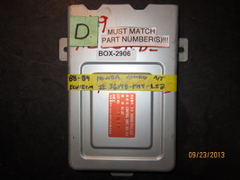 88 89 Honda Accord A/T Ecu/Ecm #36048 Ph4 L52 *See Item Description* - $34.65