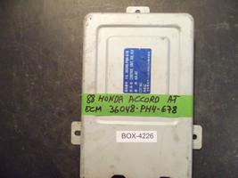 88 Honda Accord A/T Ecu/Ecm #36048 Ph4 678 *See Item Description* - $67.31
