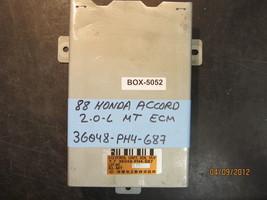 88 Honda Accord 2.0 L M/T Ecu/Ecm #36048 Ph4 687 *See Item Description* - $23.55