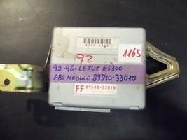 92 93 94 95 96 LEXUS ES300 ABS MODULE #89540-33010 *see item description* - $14.85