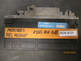 92 93 MERCEDES ABS MODULE 0265101018 *see item description* - $12.61