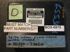 93 94 95 96 Lexus Es300 Cruise Control Module #88240 33060 *See Item* - $8.41