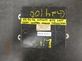 94 95 96 Infiniti Q45 Left Seat Control Module #2856567 U01 *See Item* - $58.90